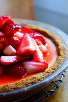 ... inspires a strawberry lemonade icebox pie | of agates and madeleines