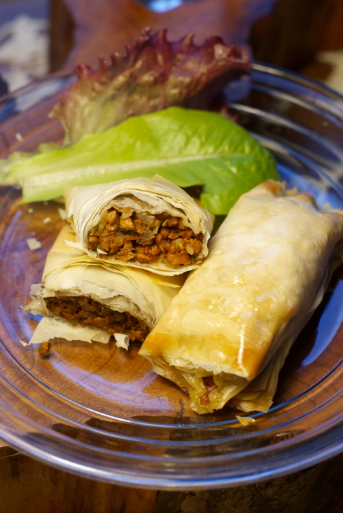 chanterelle duxelles turnovers