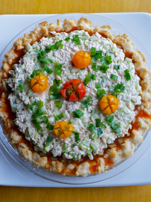 summer salad pie