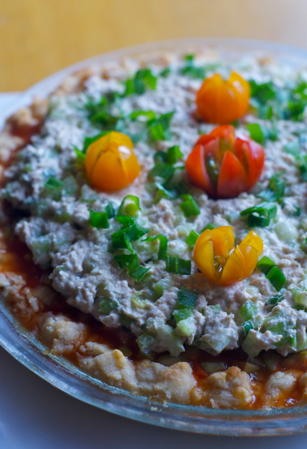 summer salad pie